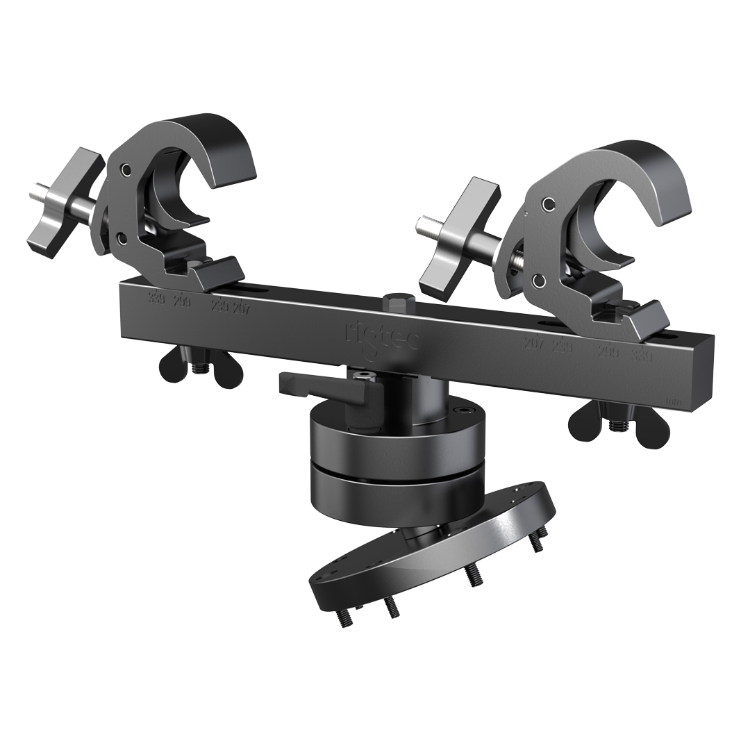 Rigtec Atom Grip Duo Twin Point Projector Hanging Bracket Flying Adapter Adjustments